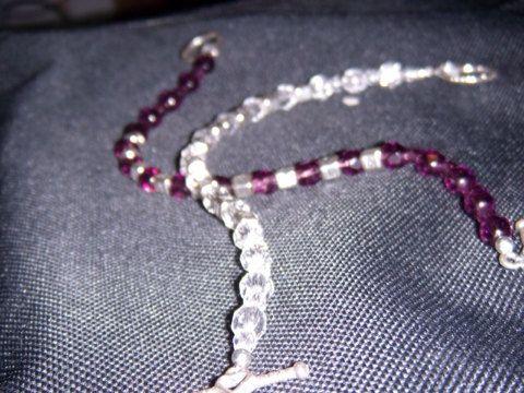 Mothers Love Silver Letters Bracelet on Etsy, $40.00
