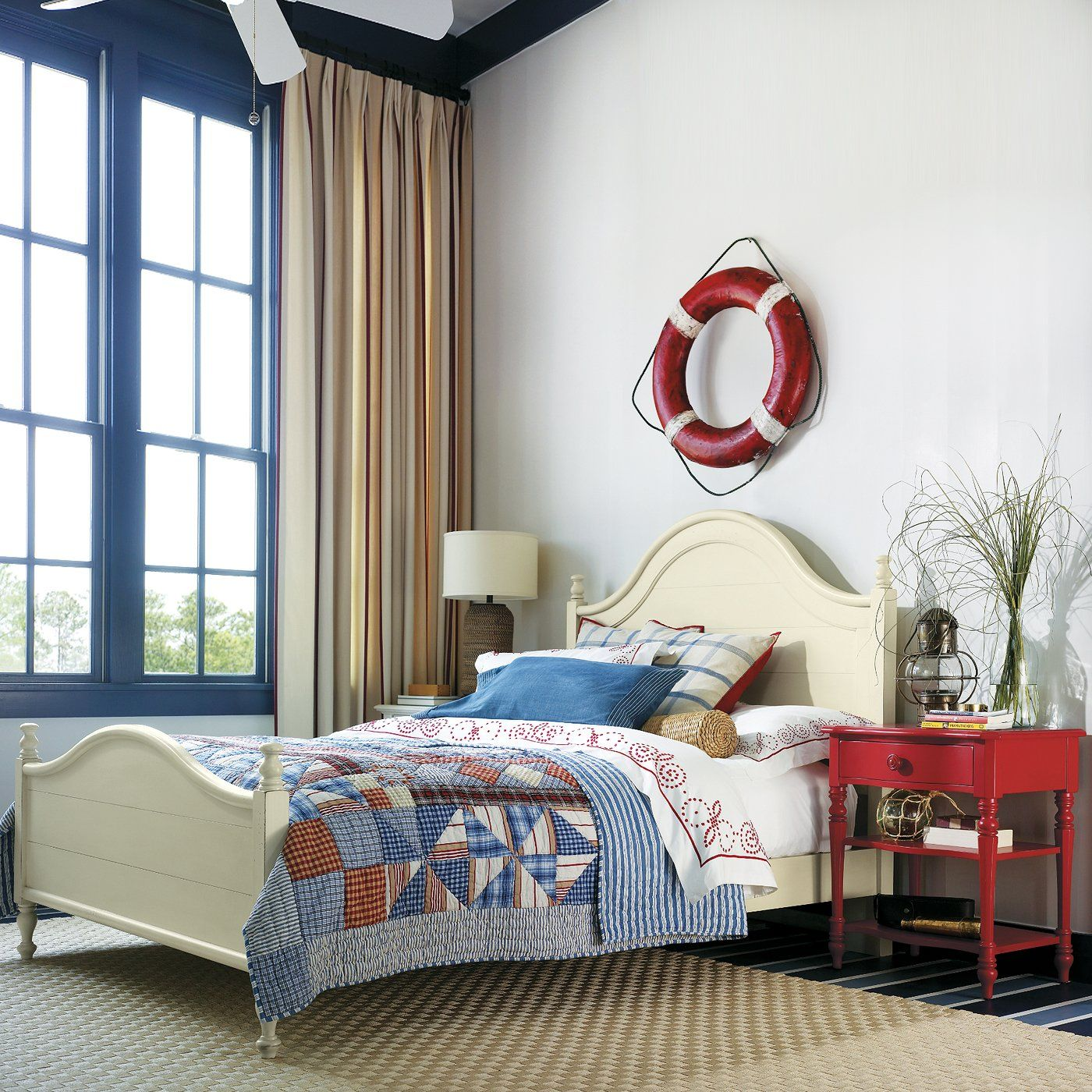 Loft bedroom privacy ideas  Stanley Furniture Coastal Living Bungalow Bedroom Set  Hatteras