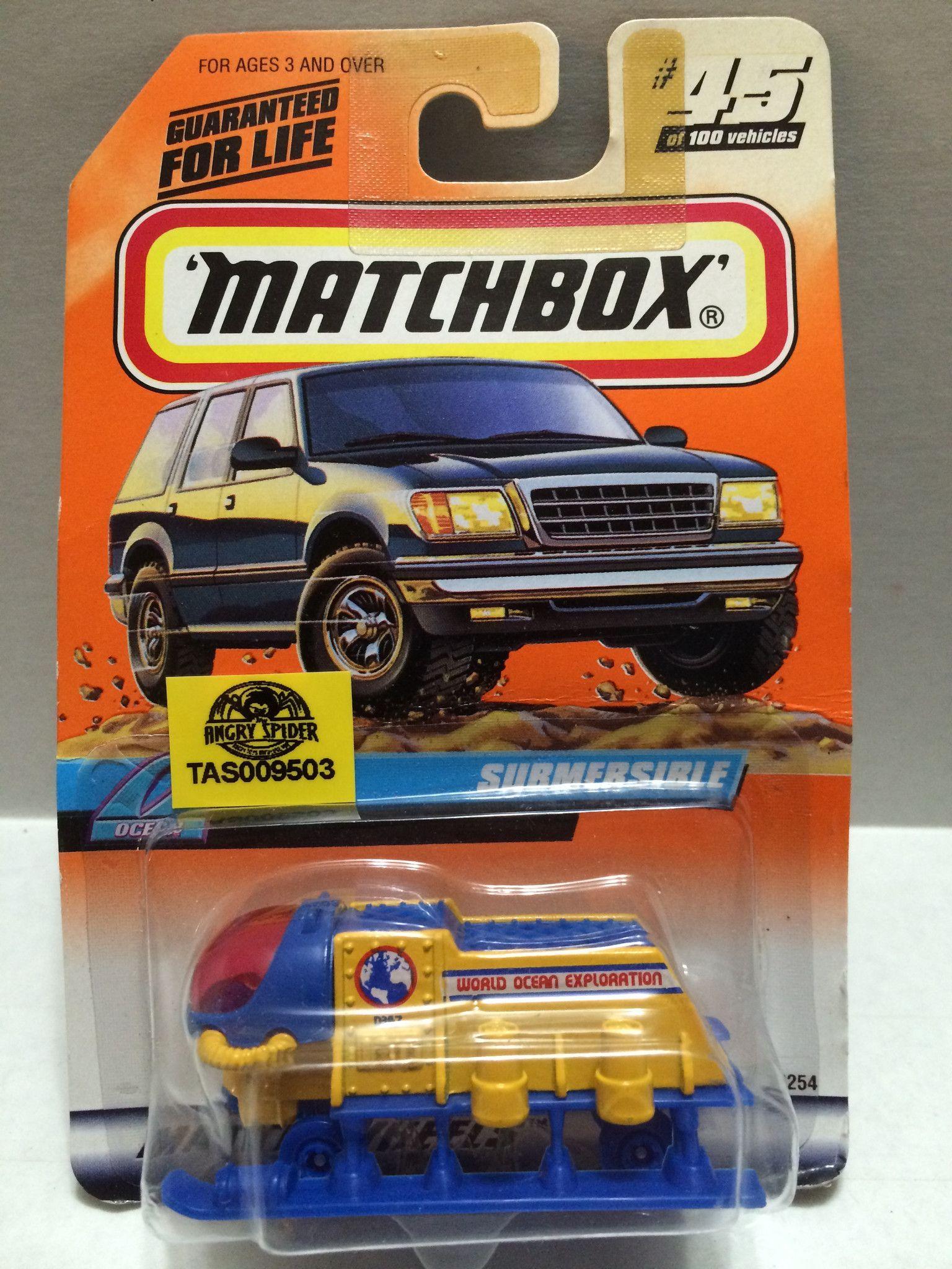 (TAS009503) Matchbox Racing Stock Car Submersible