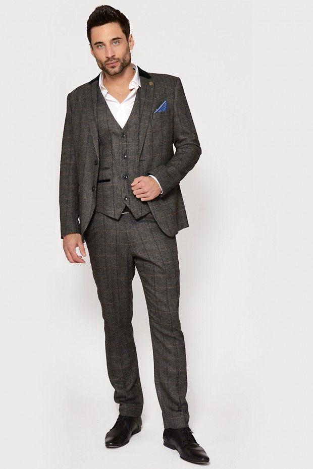 Pin by GENTS Formal Wear on Tweed 3 Piece Suit | Pinterest | Tweed