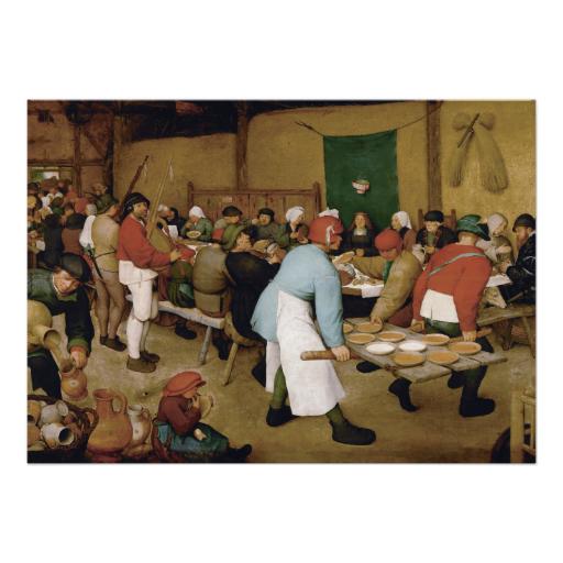 #peasant #wedding by pieter #bruegel the elder #renaissance #art #announcements