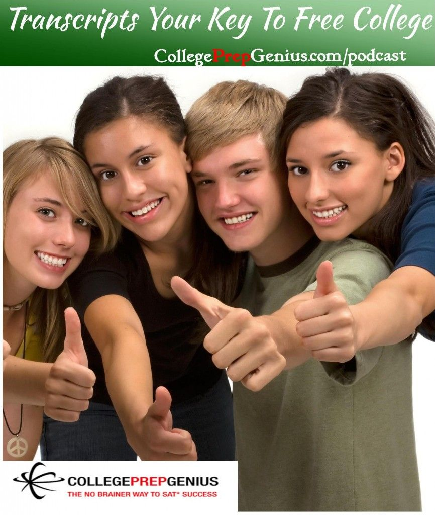 Transcripts Your Key To Free College Homeschool