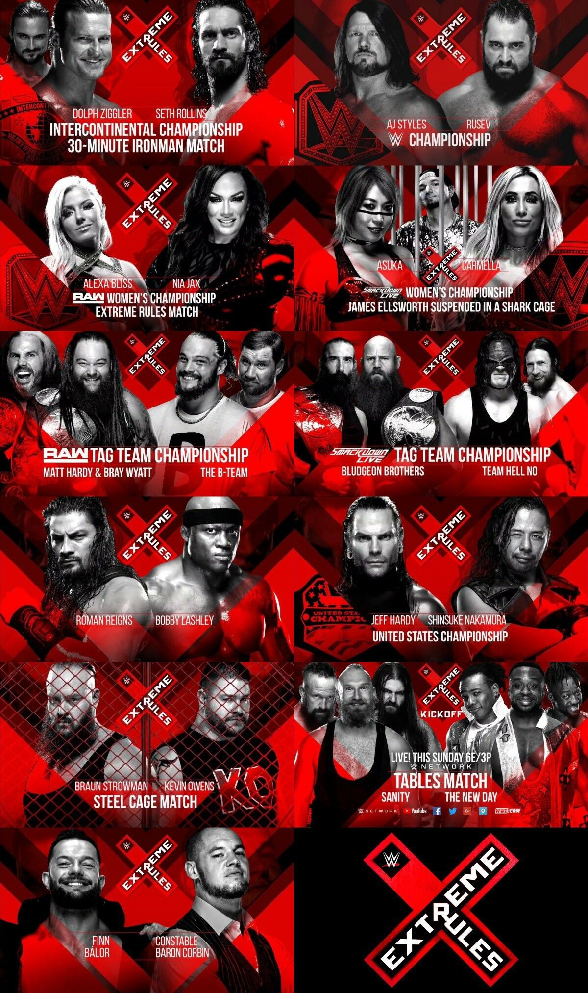 Wwe Extreme Rules Ppv 2018