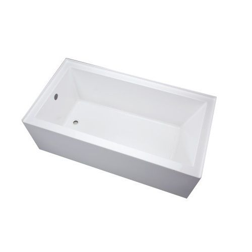 "Mirabelle MIREDS6032LWH Edenton 60"" Soaking Tub - White at ..."