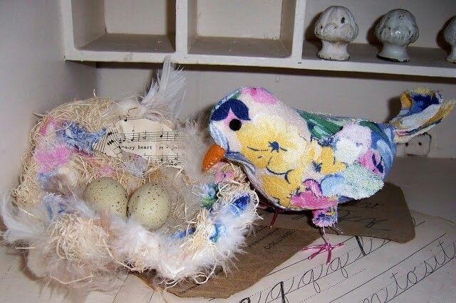 Nest and birdie