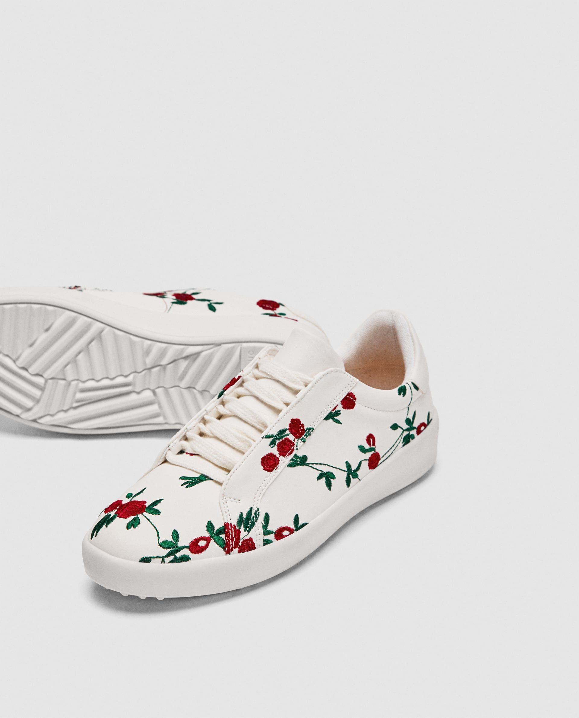 Buty Sportowe W Kwiaty Nice Shoes Winter Shoes Sneakers