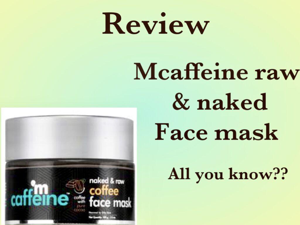 Buy Mcaffeine Naked Detox Green Tea Night Gel
