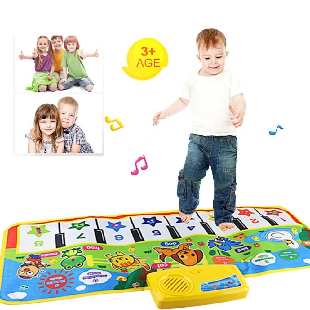 Kids Baby Touch Play Keyboard Musical Music Singing Gym Carpet Mat Best Gift New