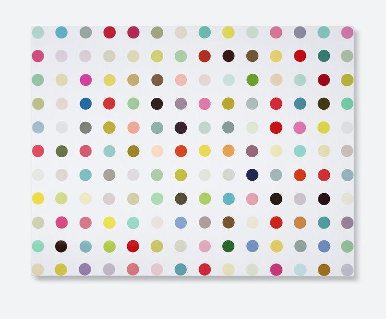 Damien Hirst - Capric Acid Amide, 2003