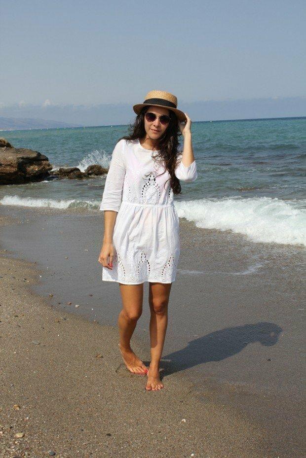 Robe de plage classe