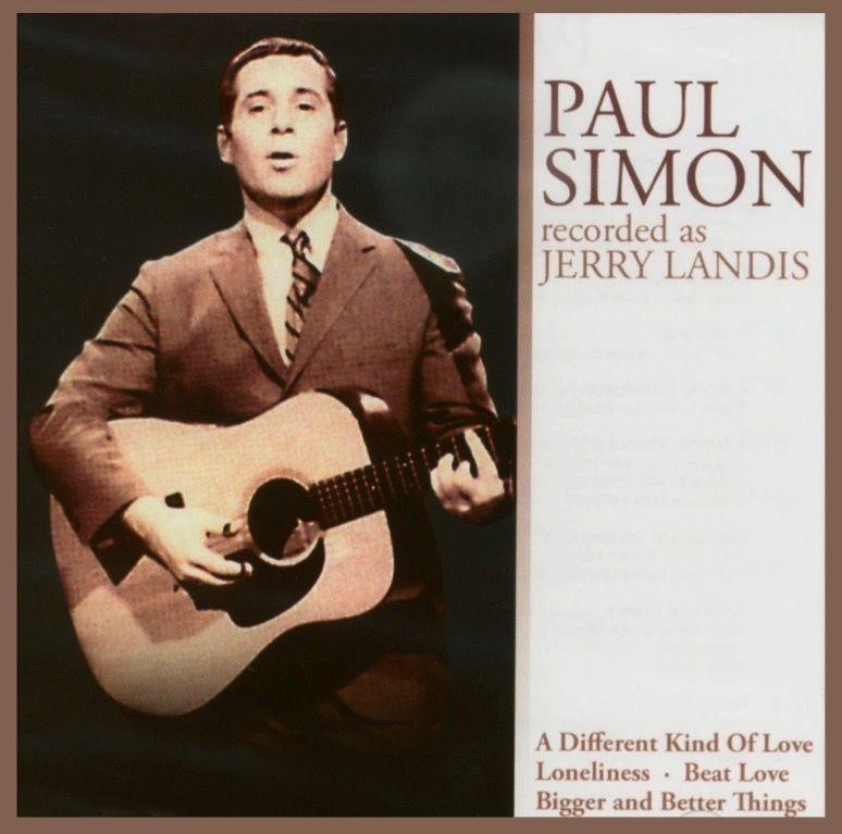 Paul Simon Recorded As Jerry Landis 2006 Paul Simon Simon Garfunkel Songwriting