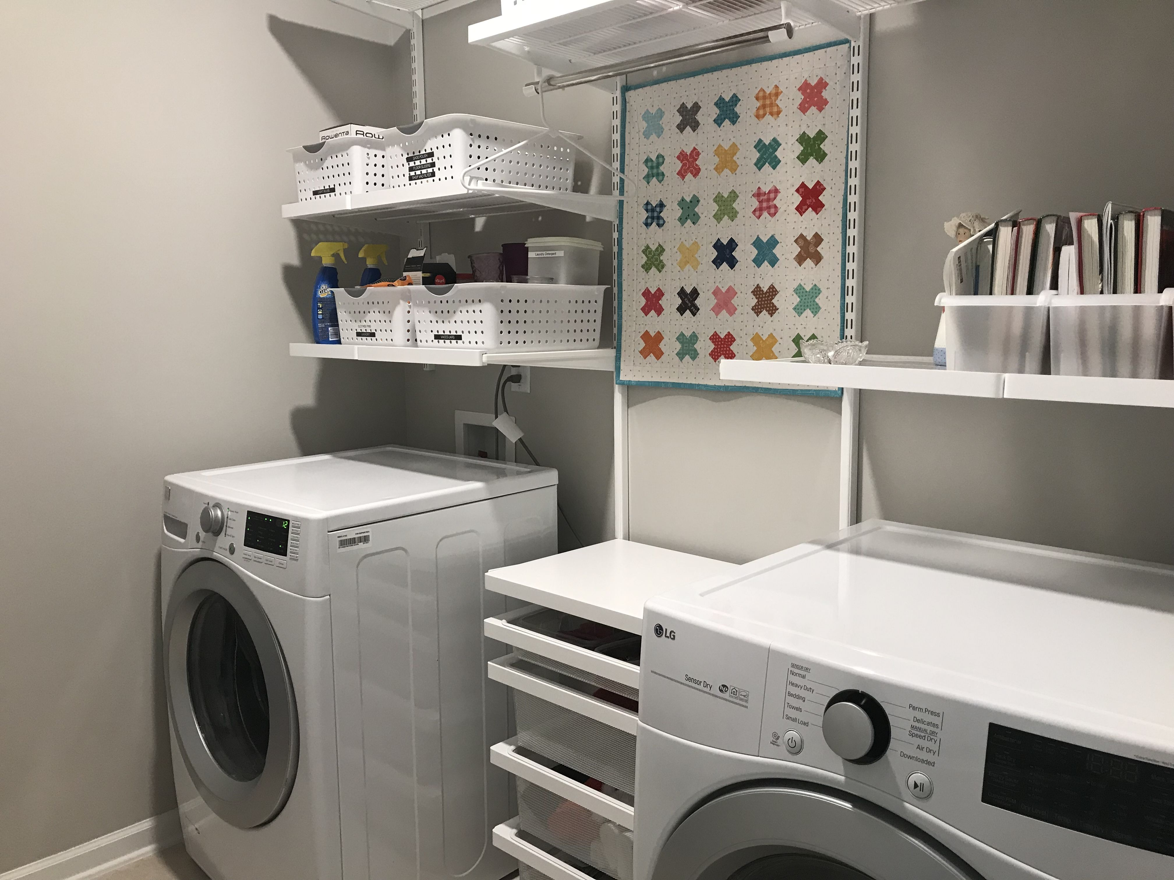The Container Store Love My New Laundry Room New Homes