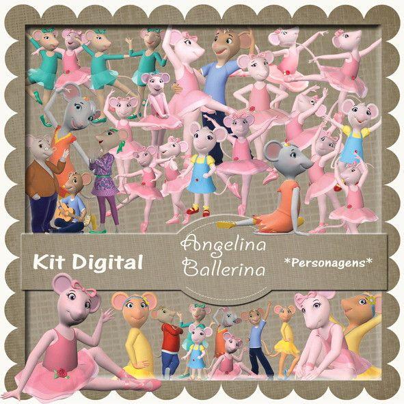 Kit Scrapbook Angelina Ballerina