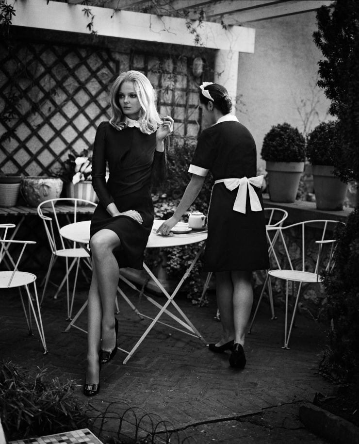 Eniko Mihalik by Vincent Peters for Vogue Spain September 2012