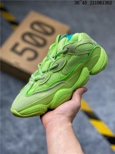 Wmns Adidas Yeezy 500 Desert Rat Green