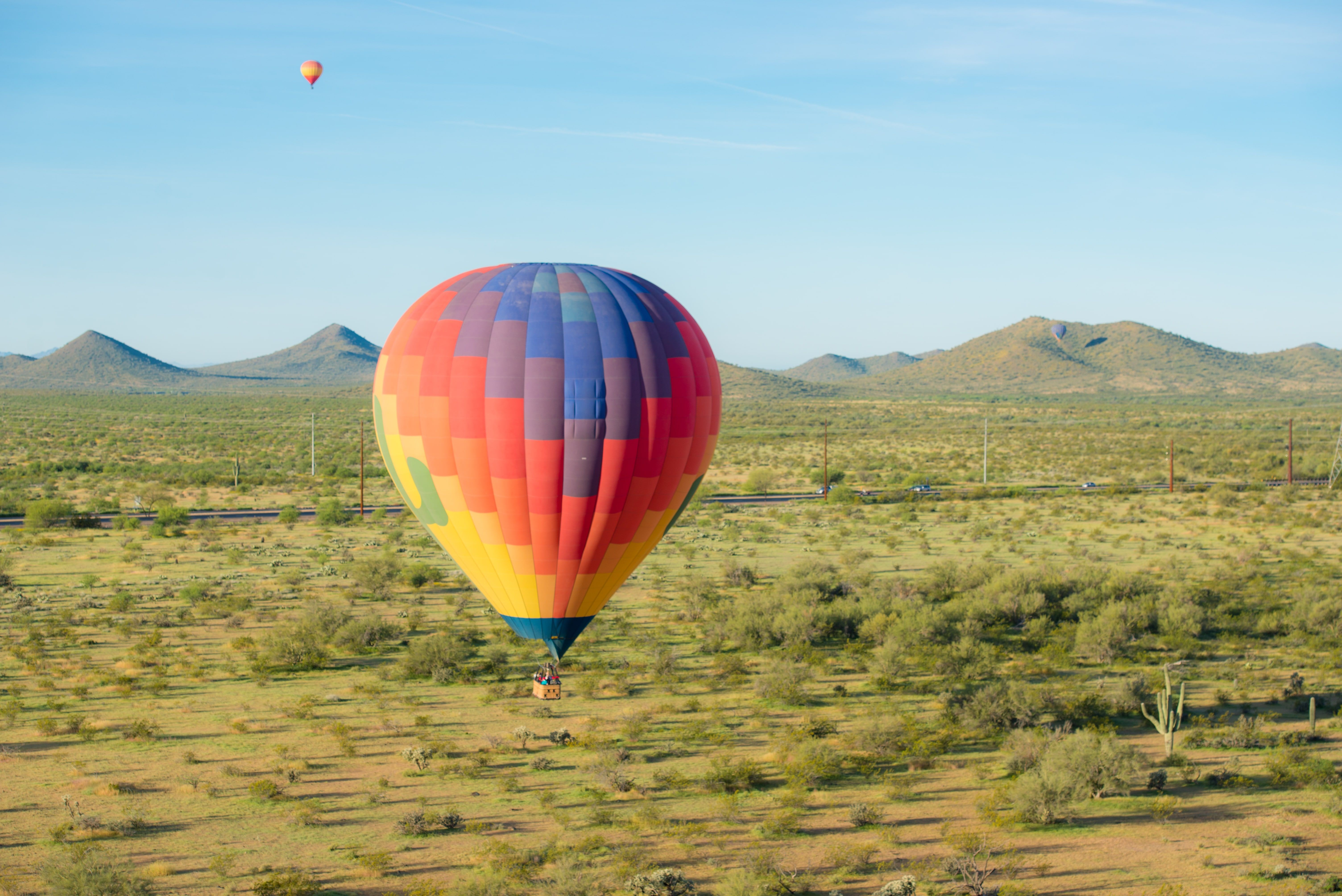 Another beautiful day for ballooning! Balloon rides
