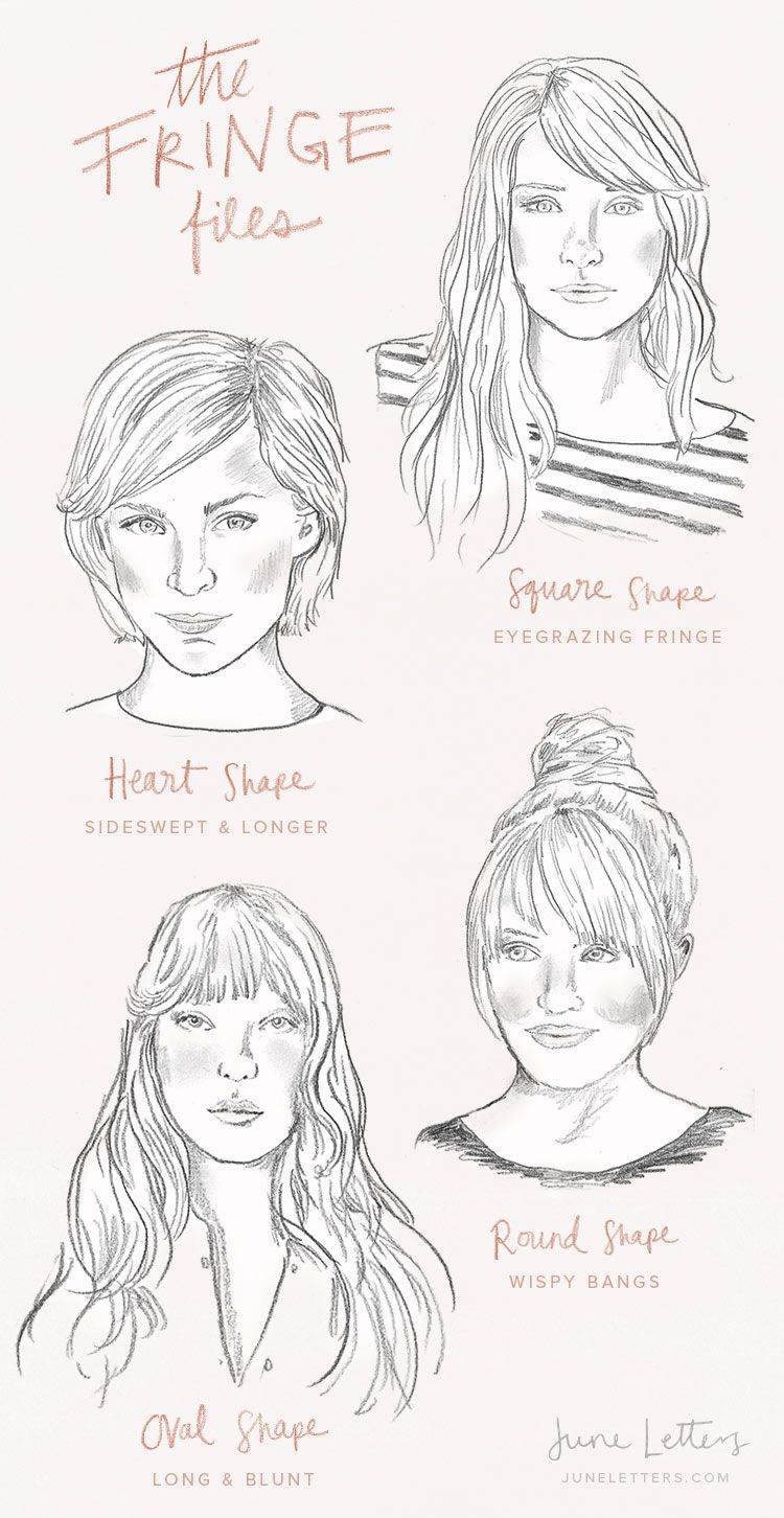 The Fringe Files How To Style Bangs Hairstyles With
