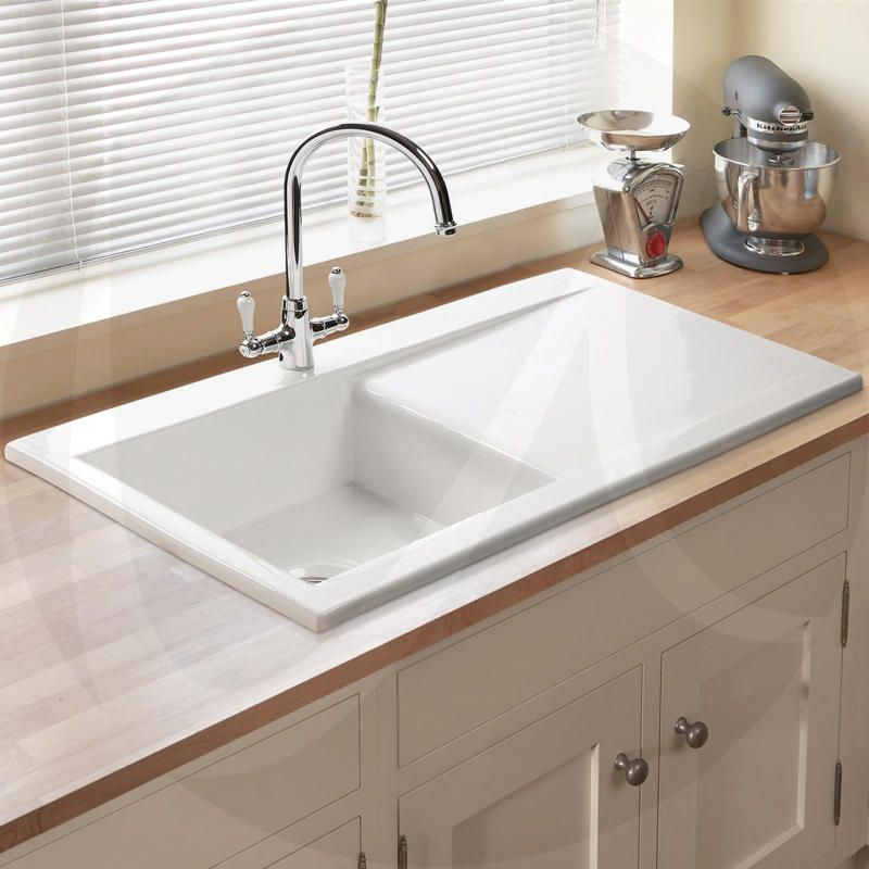 Astini Desire 100 1.0 Bowl Gloss White Ceramic Kitchen ...
