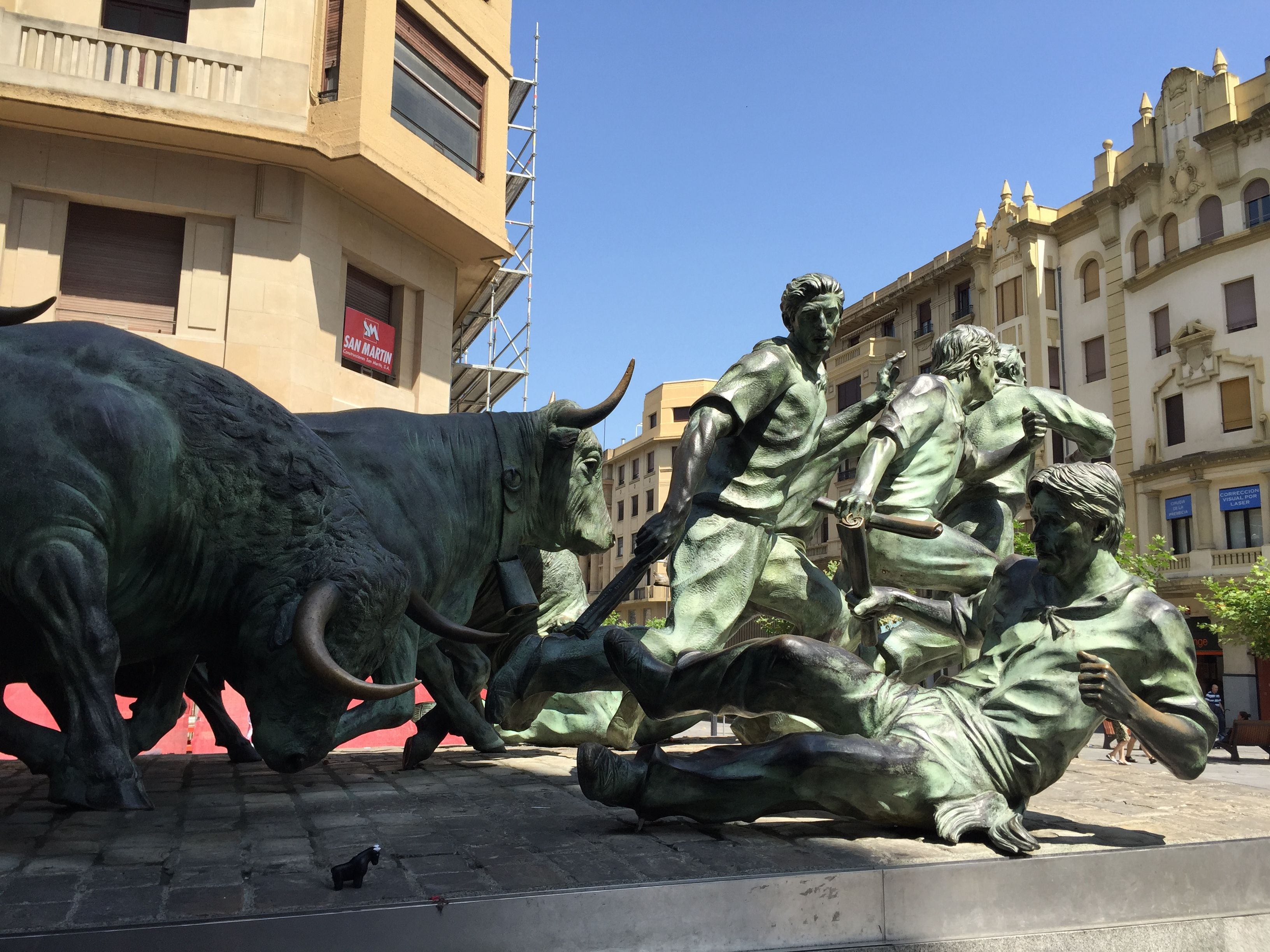Bravo the Bull, Spain, Spanish Art, SMU Student Trip, Travel, Meadows Museum