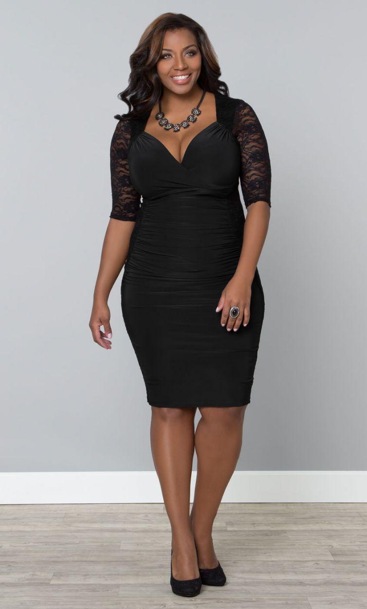 1000  images about Plus Size Dresses on Pinterest | Lace cocktail ...
