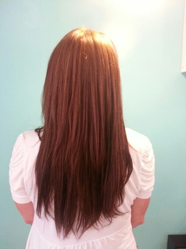 After Gorgeous 16 Inch Microlink Hair Extensions Her Hair I