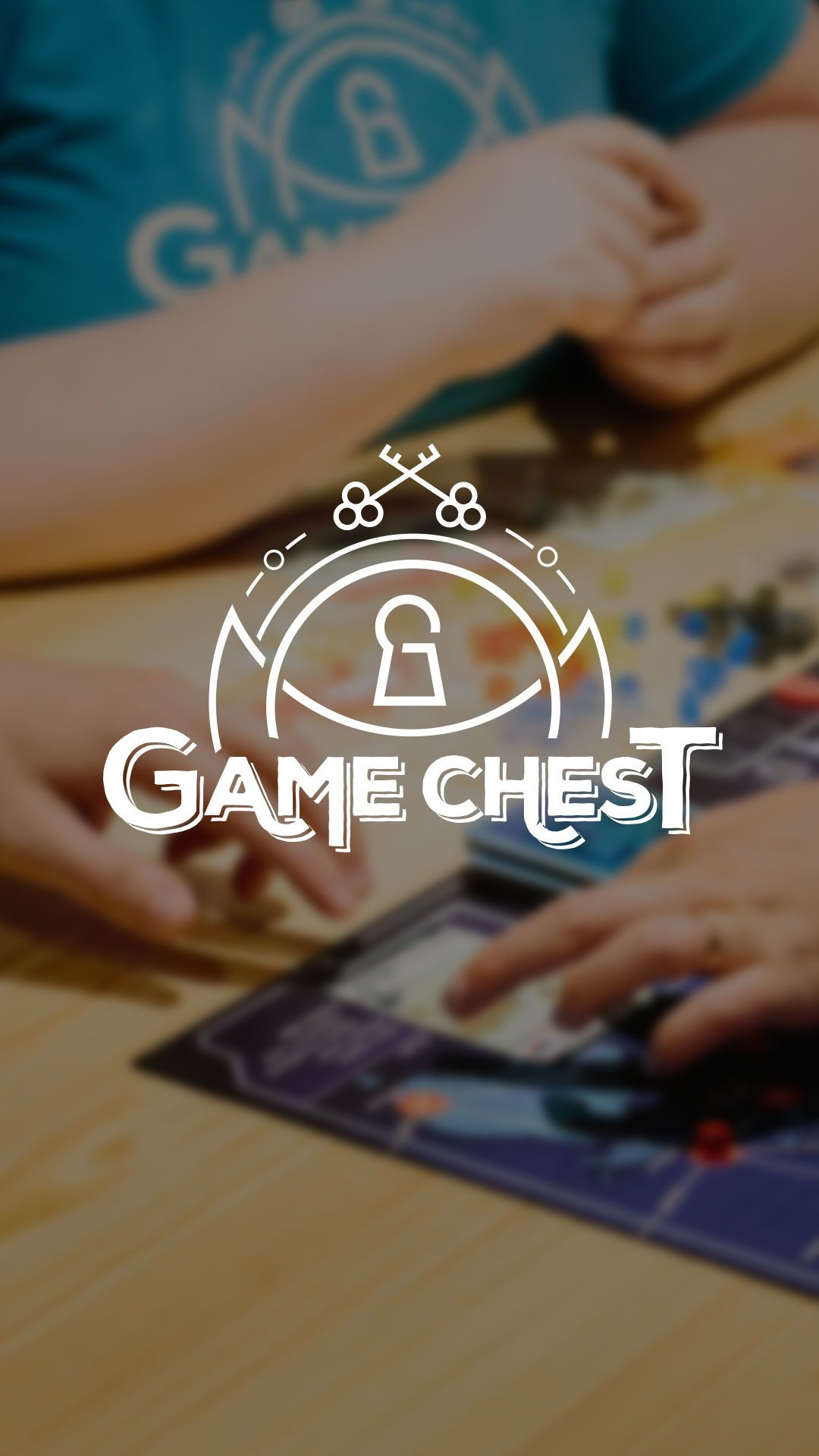 Game chest is a company that promotes family game nights