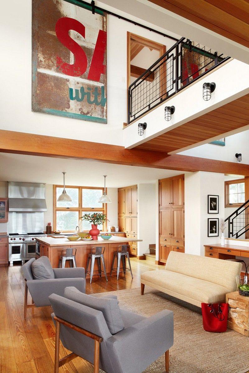 Traditioneller Stil, moderne Haltung: dieses schöne Haus befindet ...