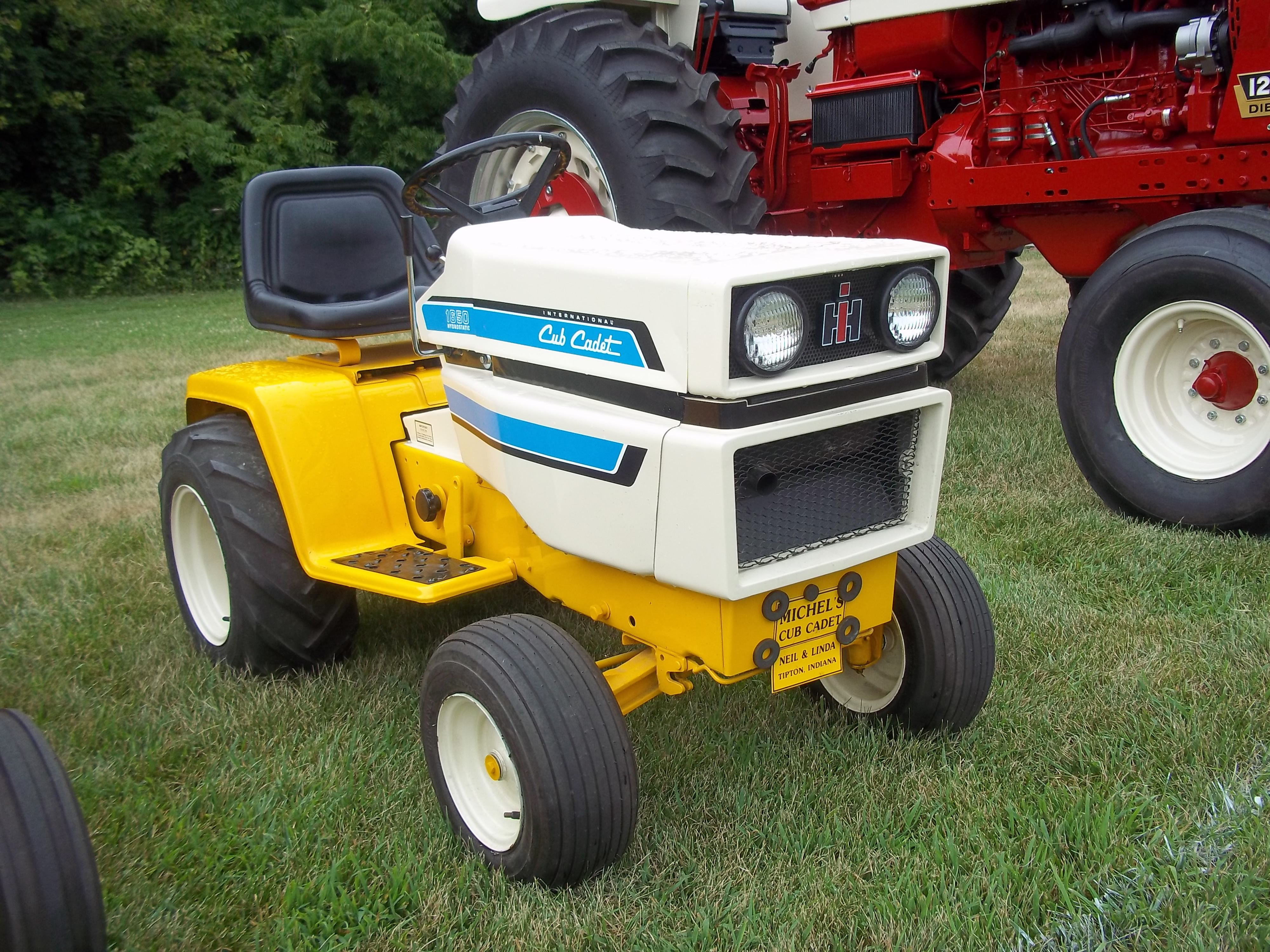 Cub Cadet Pulling Parts : Used farm tractors for sale cub cadet pulling tractor