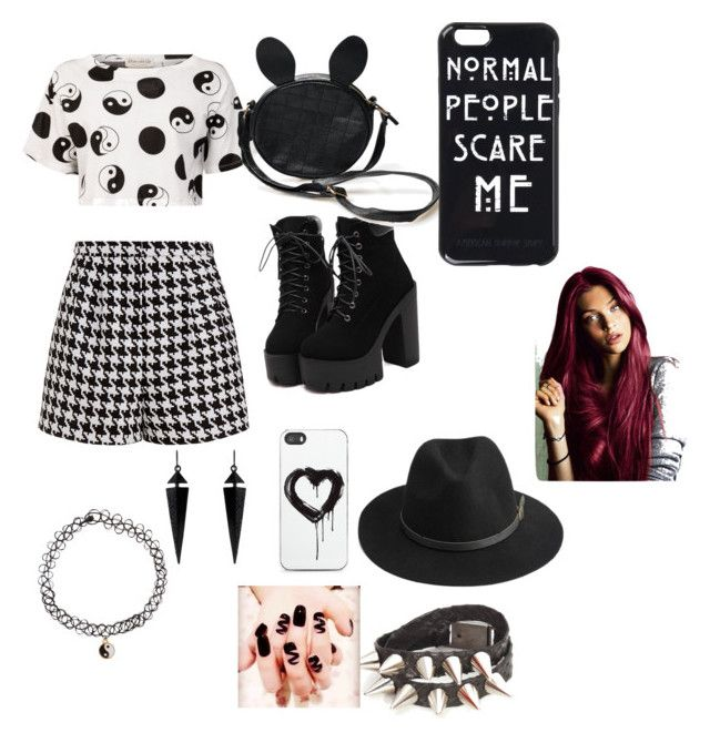 """""""Yingity Yangity ^ ^"""" by madisonpearl on Polyvore featuring Emma Cook, Être Cécile, BeckSöndergaard, Zero Gravity, Oasis and Accessorize"""