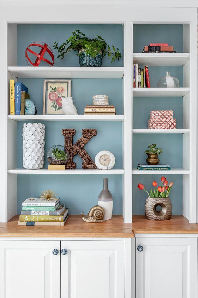 built-in shelves | Jamie Keskin Design