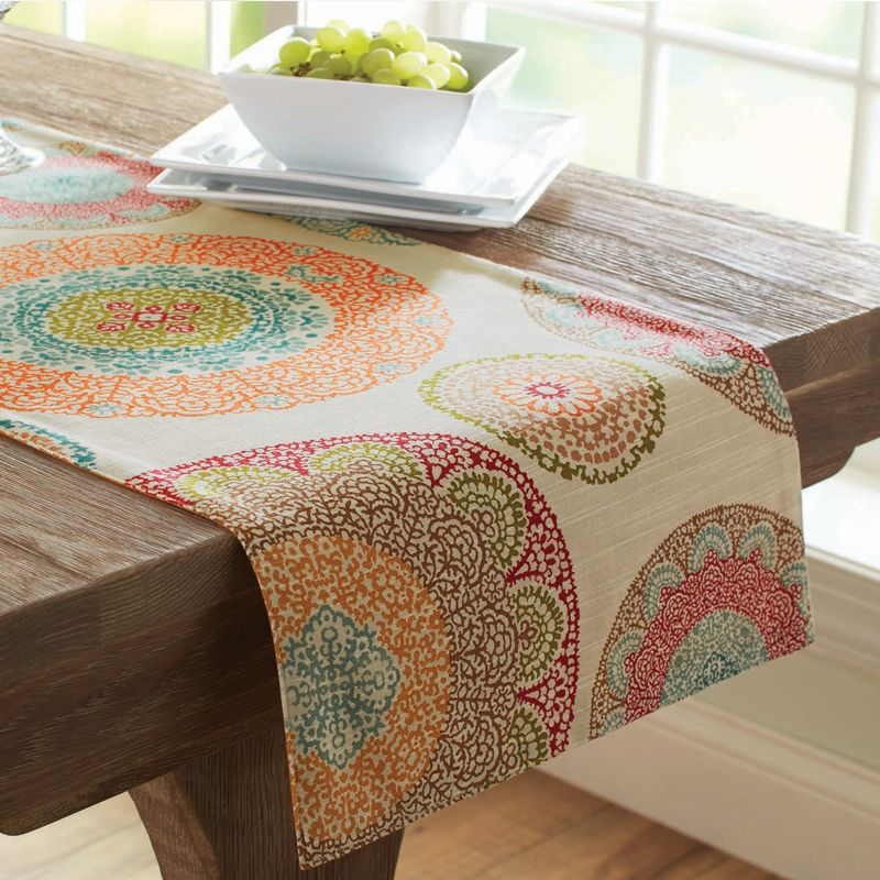 Better Homes Gardens Lace Medallion Table Runner Walmart Com Spring Table Decor Table Runners Petal Table