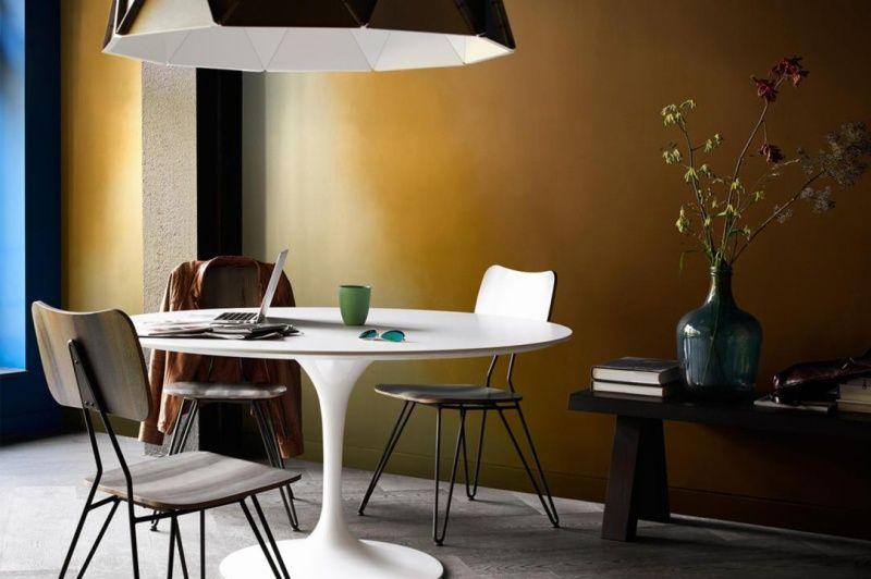 Farbe in der Wohnung \u2013 25 Ideen mit warmen Nuancen Dekoration