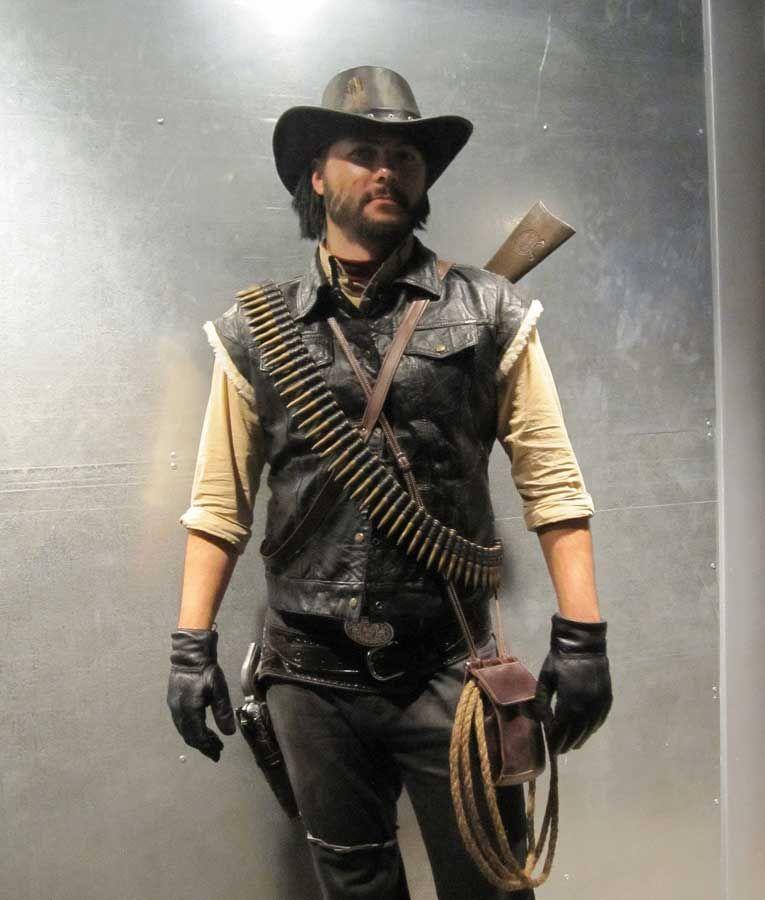 Red Dead Redemption John Marston Leather Vest Red Dead