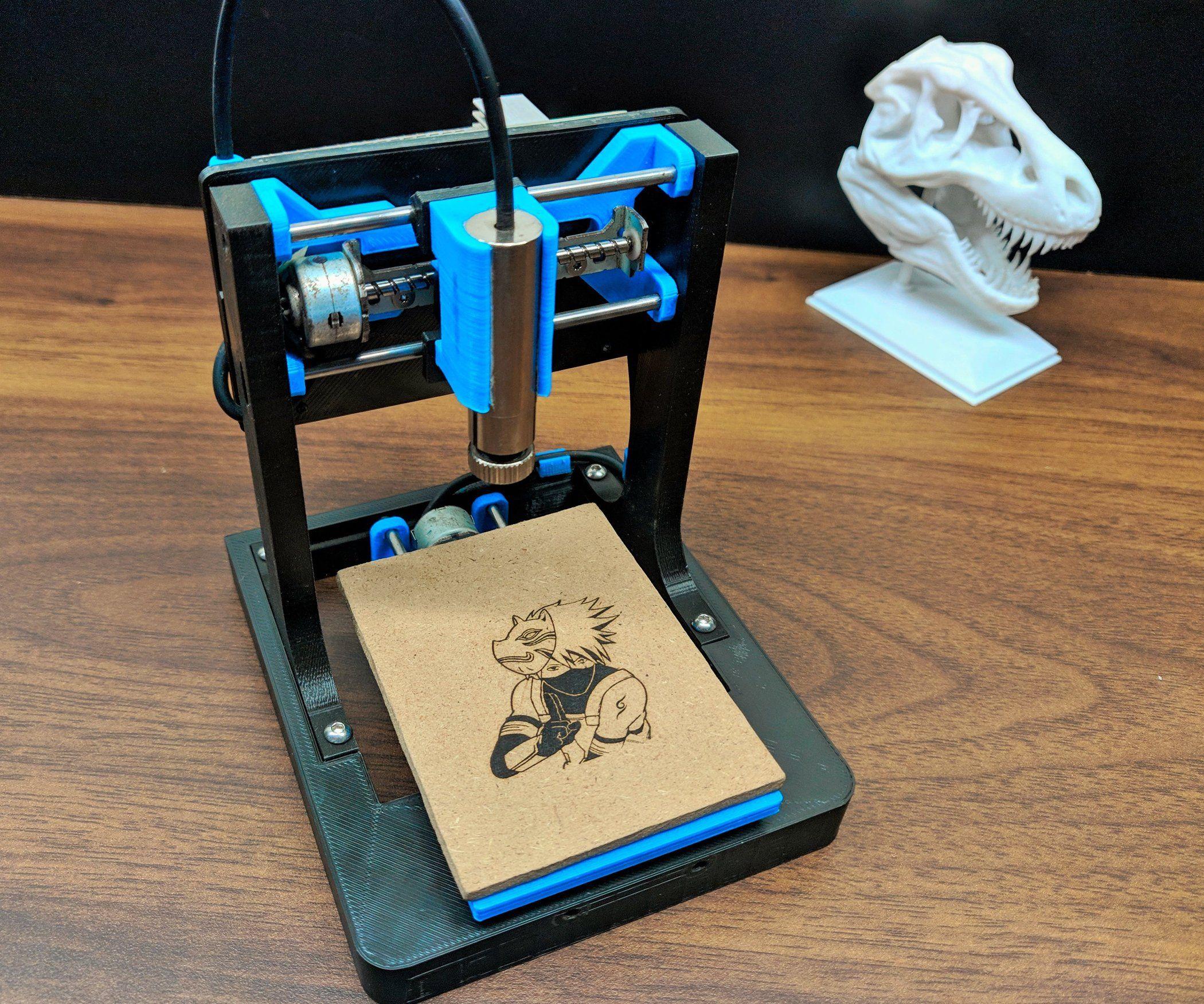 DIY Mini CNC Laser Engraver. | Cnc, Diy cnc, Arduino