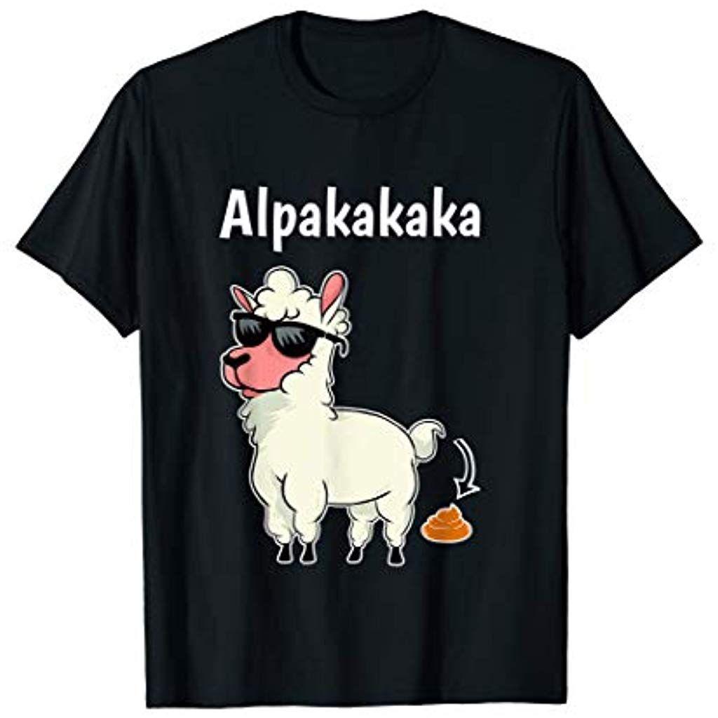 Alpakakaka Tshirt Alpaka Shirt Lama Llama Tier Kostum Spass T Shirt