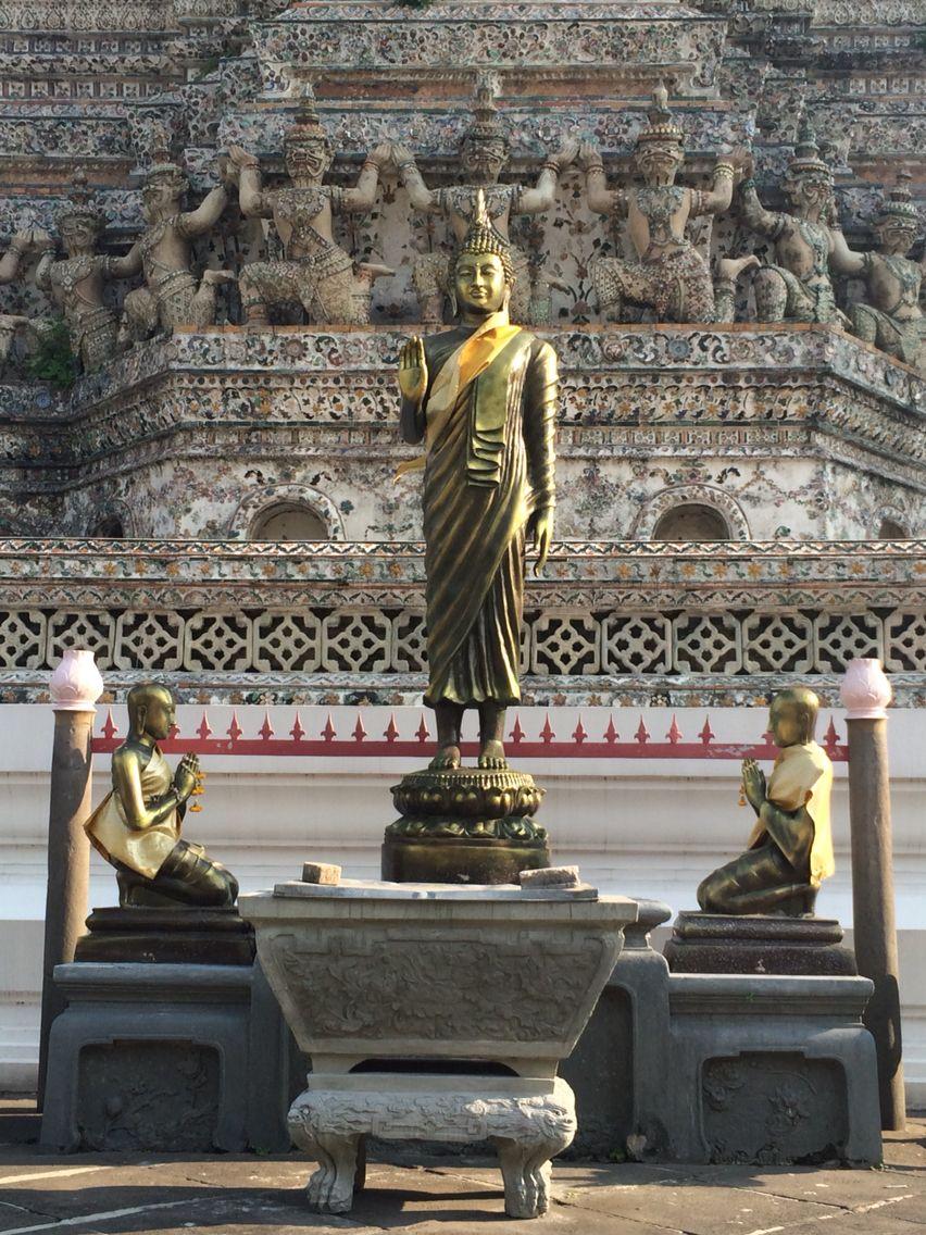 Wat Arun. Templo del Amanecer.