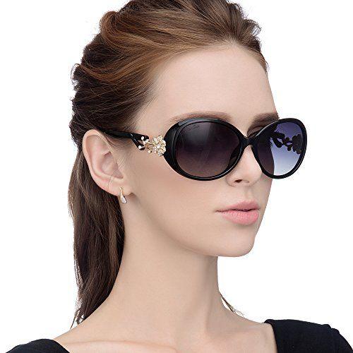 LianSan Fashion Oversized Women Uv400 Protection Polarized