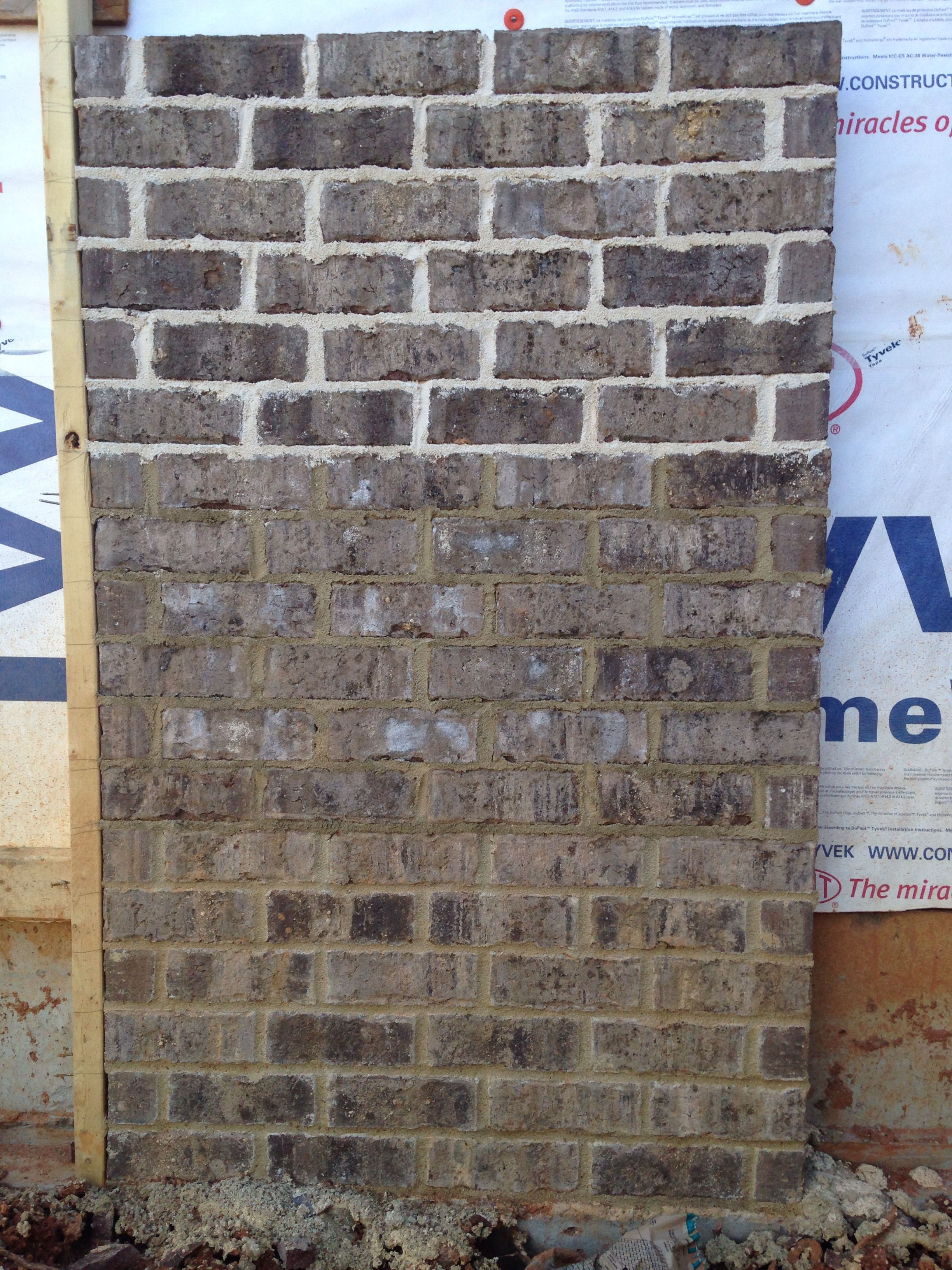 Marshton Brick Ivory Mortar Top Buff Mortar Middle Anti