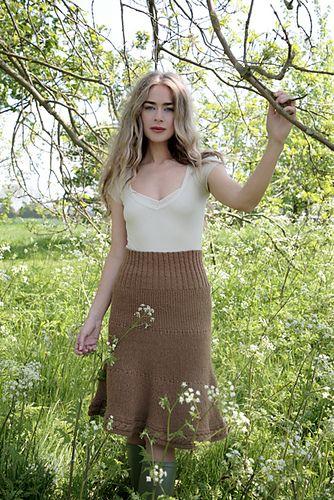 Cleo Skirt/Poncho pattern by Kari-Helene Rane | Pinterest | Falda y ...