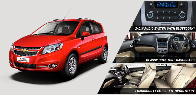 Chevrolet Sail Hatchback Price in India is 503  783 Lakh on 27