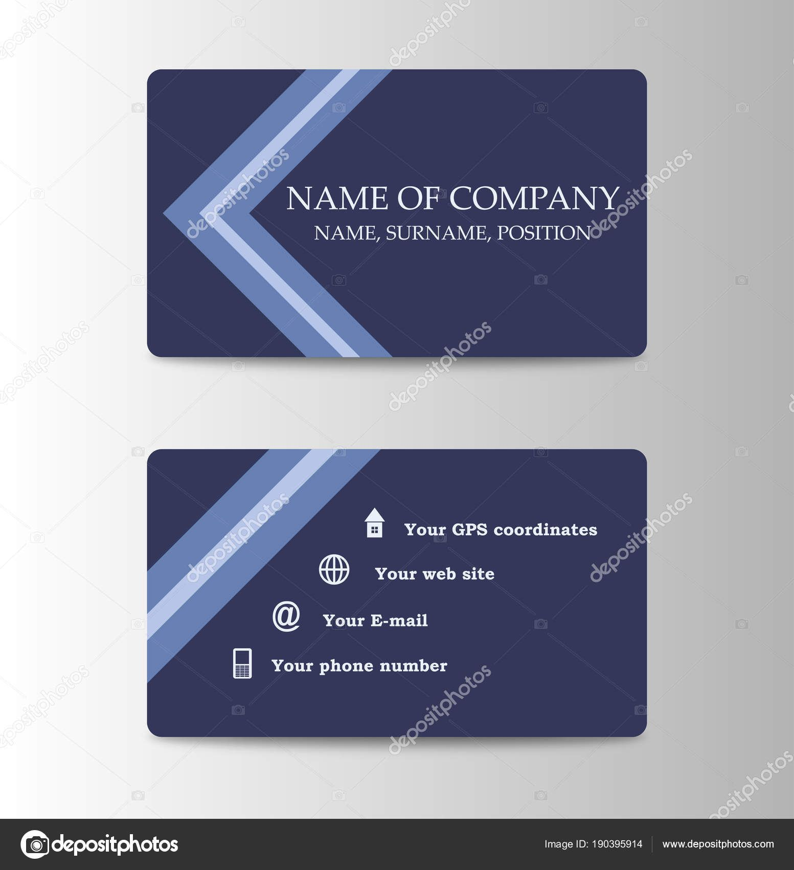 The Inspiring Corporate Id Card Design Template Personal Id Card For Pertaining To Personal Identification Ca In 2020 Corporate Id Card Design Printing Business Cards