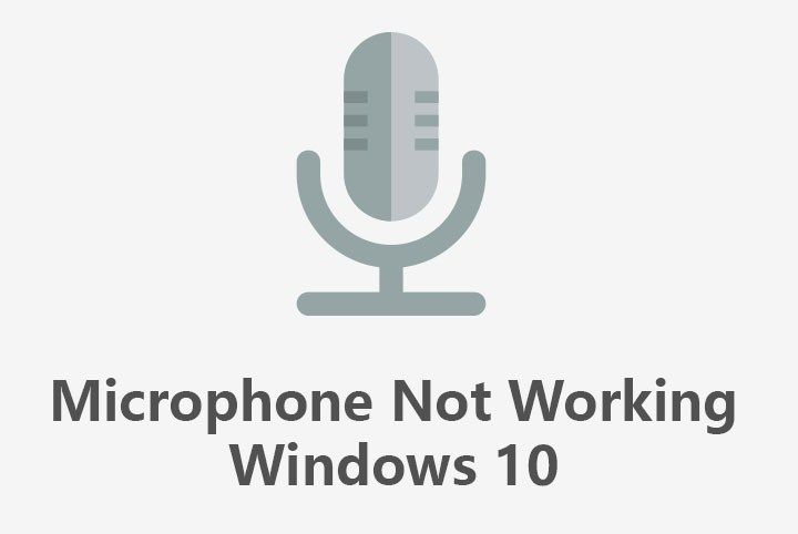 Microphone Not Working in Windows 10 Fixed | Wiknix | Windows 10 in