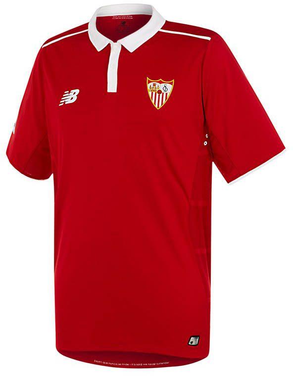 Sevilla 16 17 Away Kit Released Shirts Soccer Kits Football Shirts