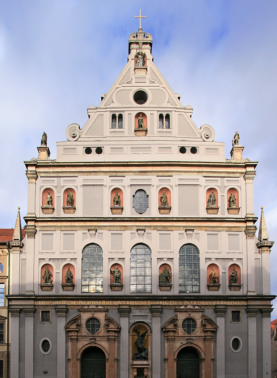 St Michaels Church 1583 1597 Munich Germany Architecture