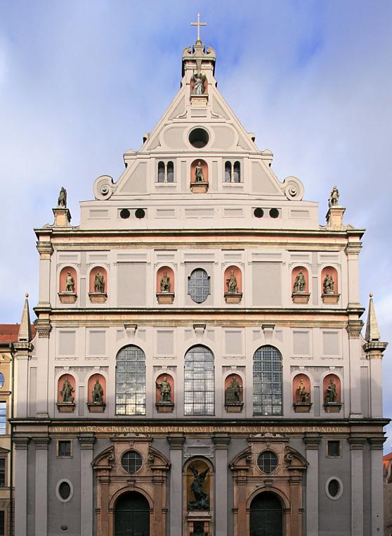 St Michaels Church 1583 1597 Munich Germany Architecture