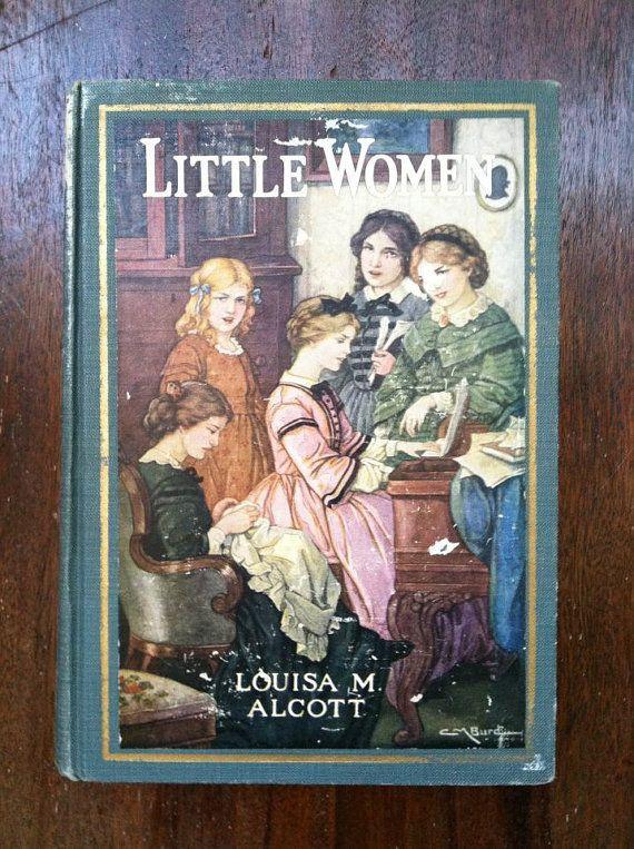 1920s 20s Little Women Book Louisa M. Alcott 1920 Gatsby era book