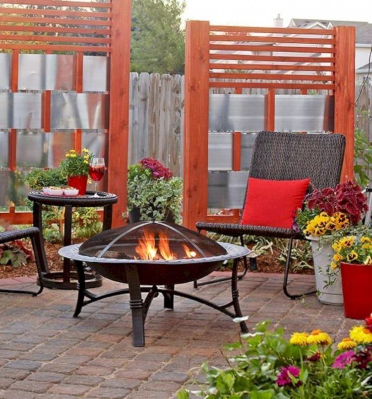 diy outdoor privacy screen for patio