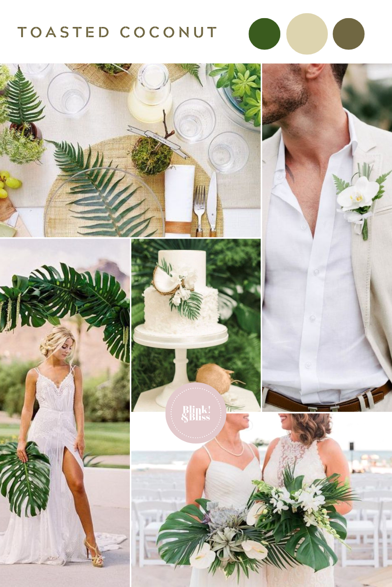 Top 10 Summer Wedding Color Palettes | Blink & Bliss