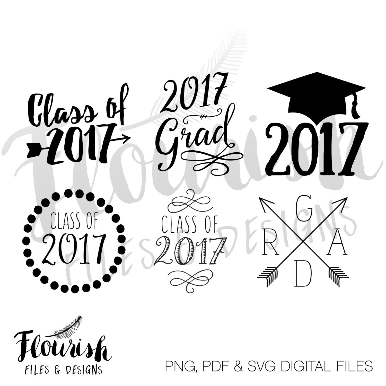Digital Clipart Grad Cap