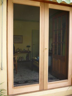 Screen For French Door One Side Bolt Mushroom Stop French
